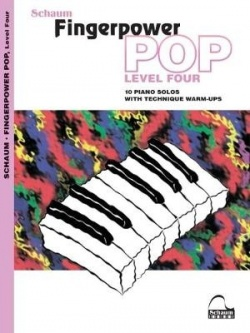 Fingerpower pop. Level four, 10 piano solos with technique warm-ups : mid-intermediate
