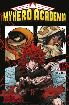 My hero academia. Vol. 16, Red riot