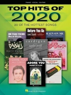Top hits of 2020 : piano, vocal, guitar