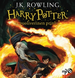 Harry Potter ja puoliverinen prinssi (MP3-CD)
